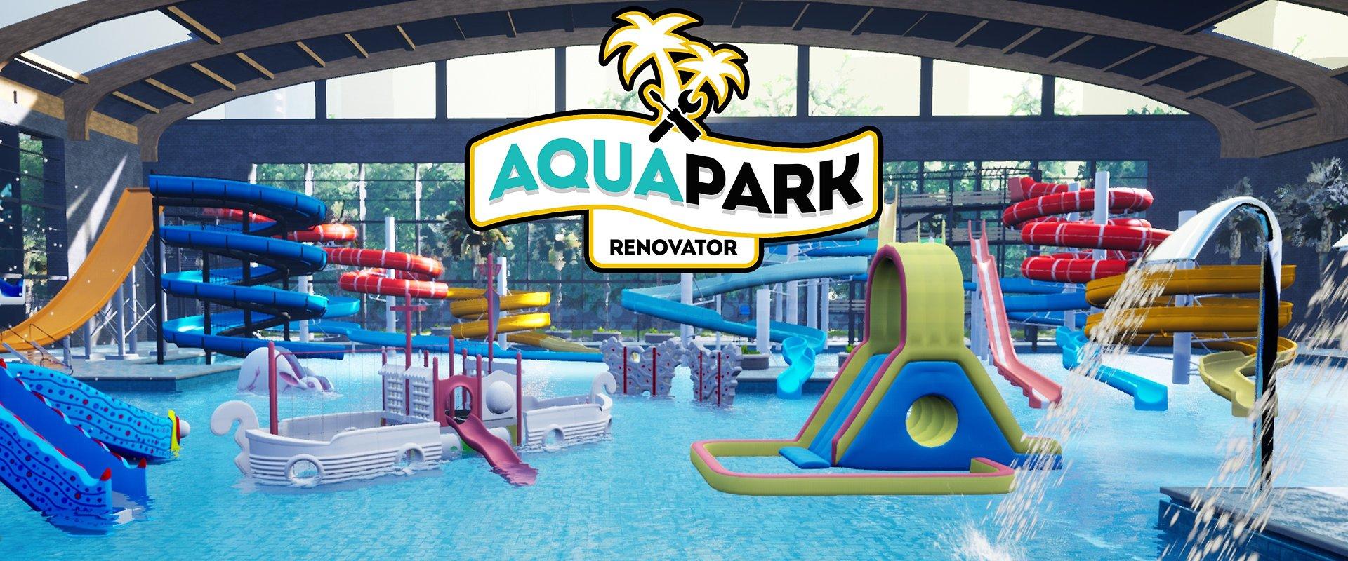 Piąta zapowiedź symulatora od The Dust - Aquapark Renovator.