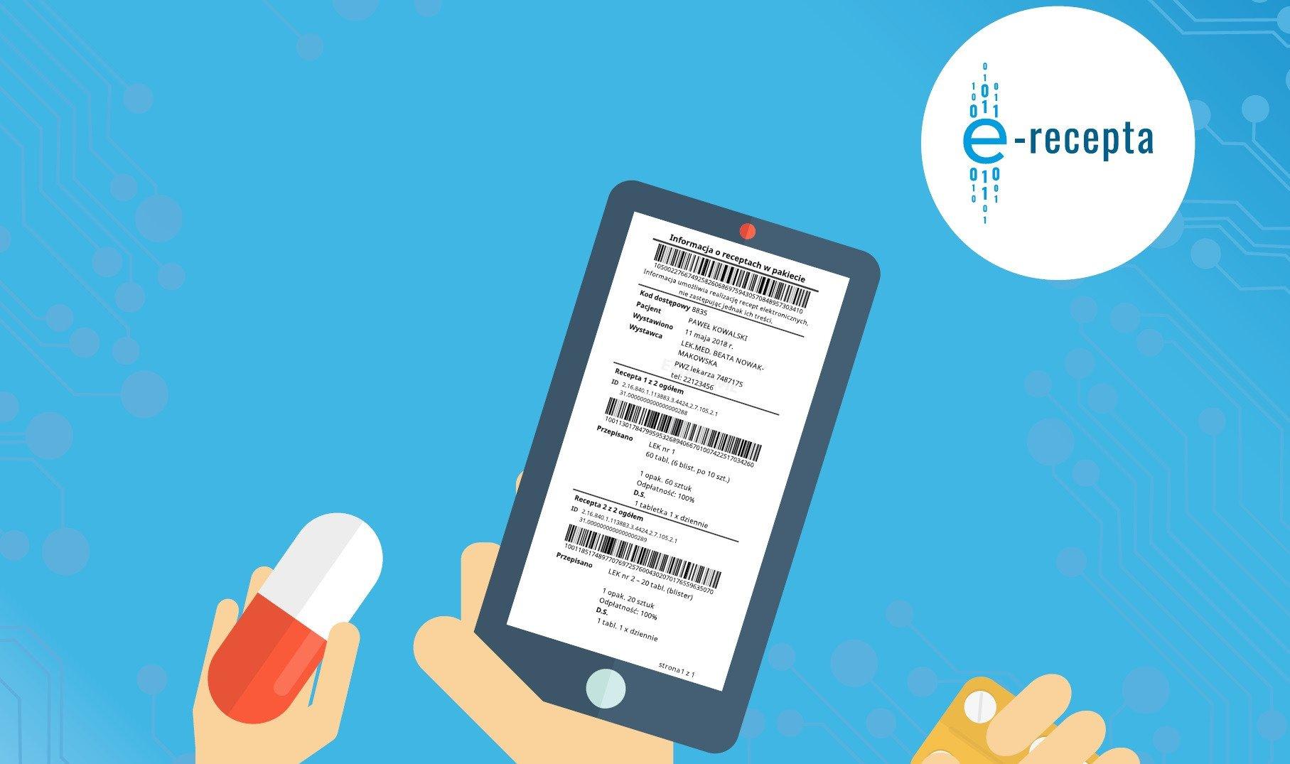 Certyfikaty P1 do obsługi recept - uwaga na termin ważności