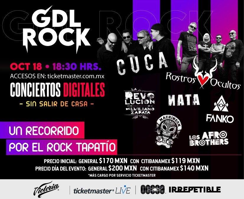 Explosión de rock, funk, fusión y world music directo de Guadalajara para el mundo