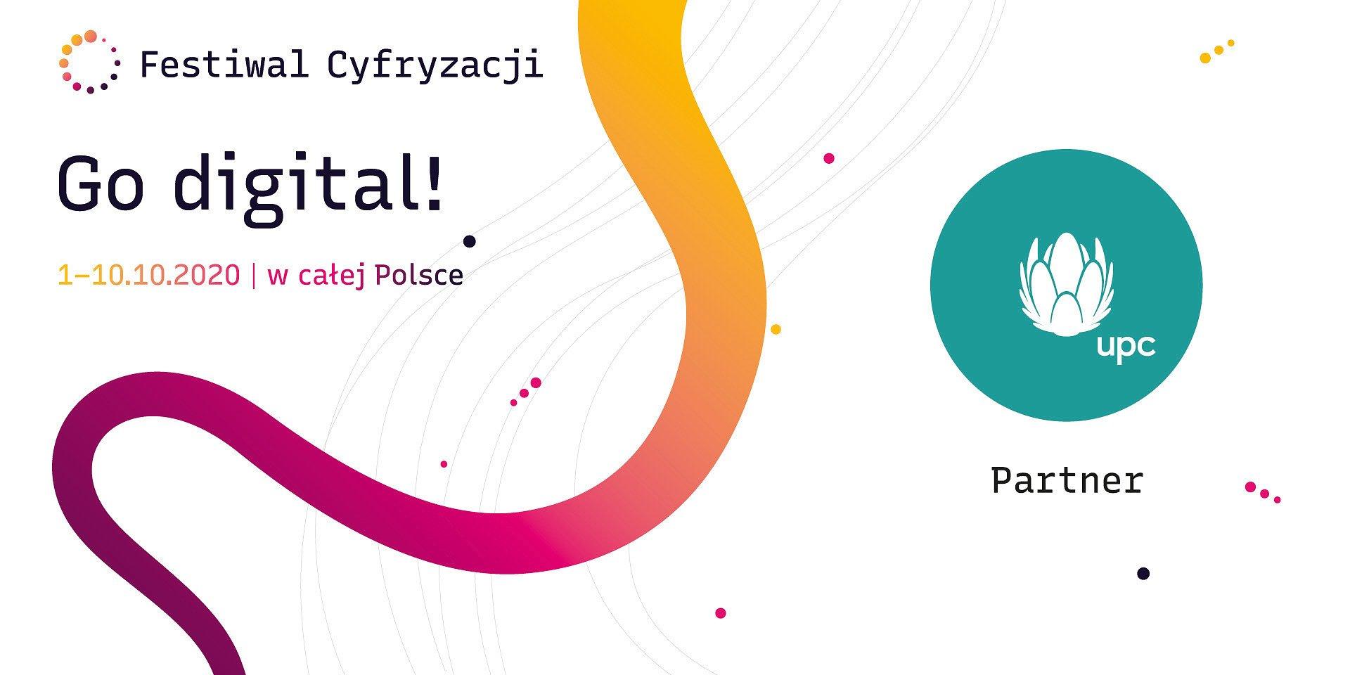 UPC Polska partnerem Festiwalu Cyfryzacji 2020