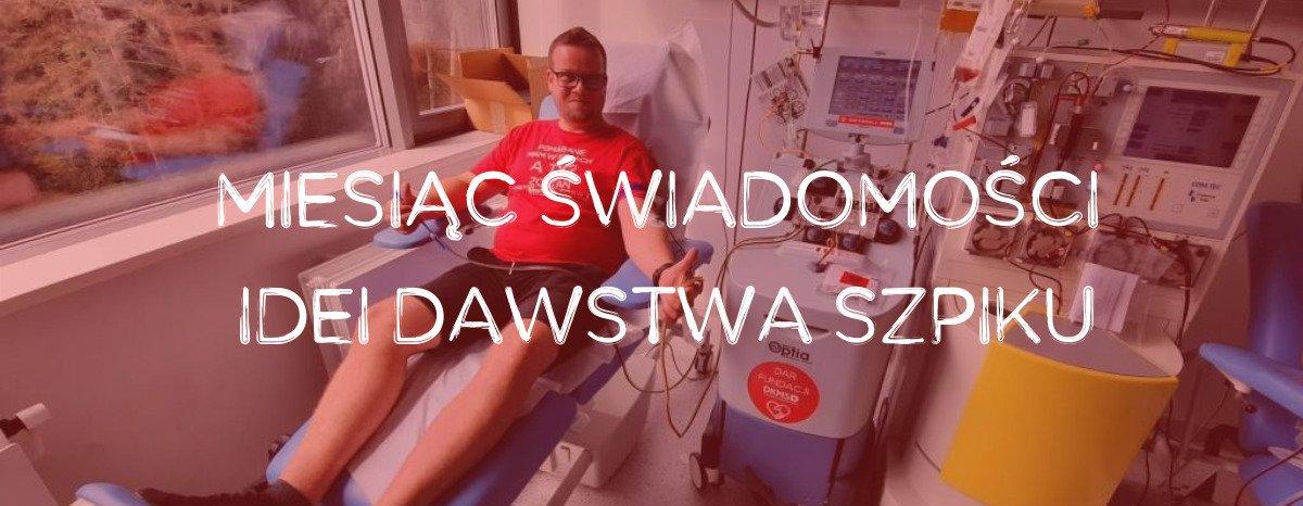 """""""Naszpikuj się wiedzą"""" w październiku! Fundacja DKMS rozpoczyna Miesiąc Świadomości Idei Dawstwa Szpiku"""