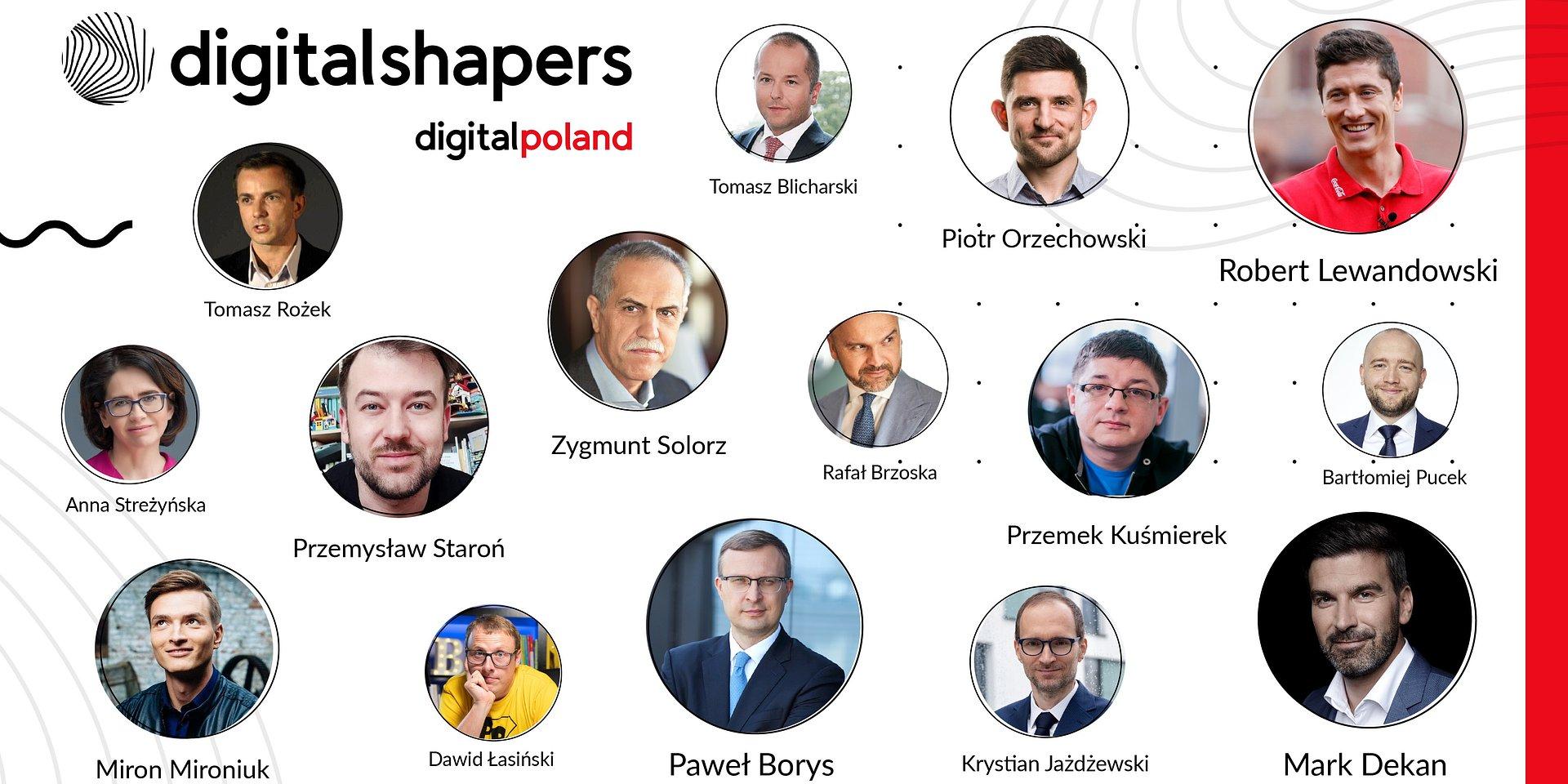 Oto liderzy cyfrowej transformacji w Polsce. Digital Shapers 2020