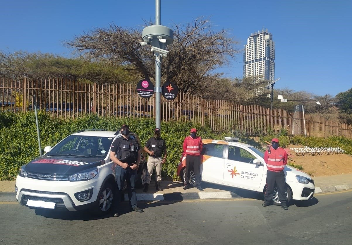 New public CCTV system helps to make Sandton Central better and safer