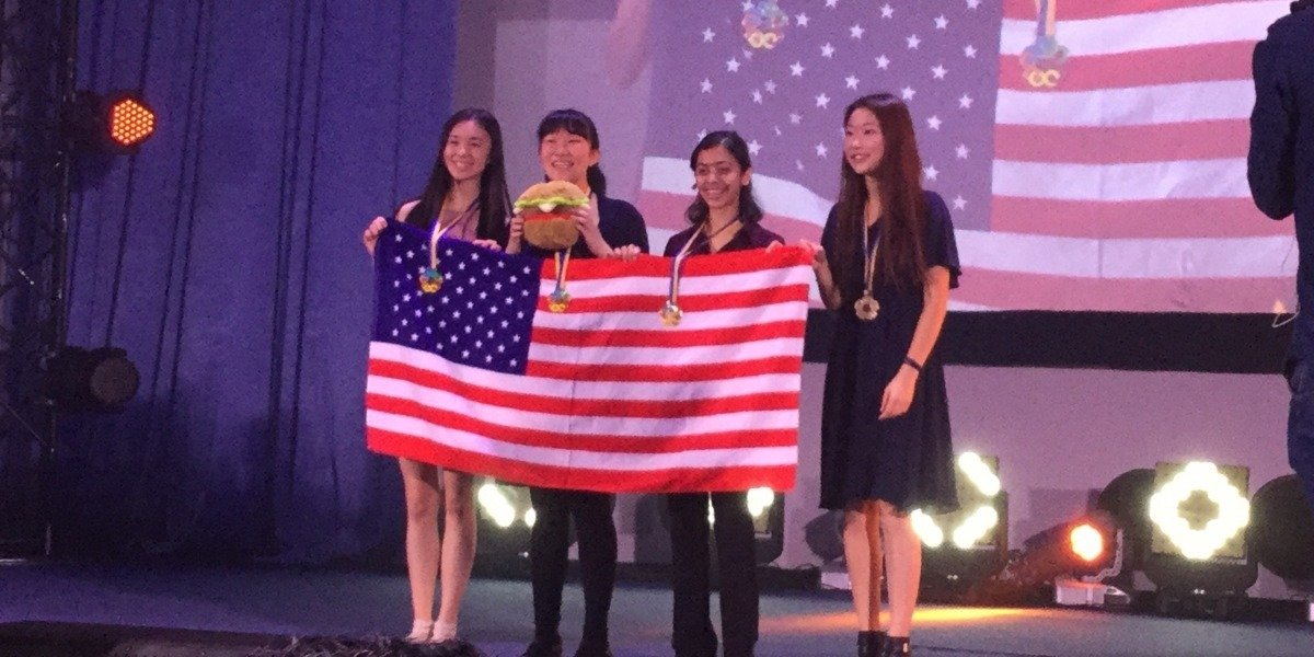U.S. Team Takes First Place at European Girls' Mathematical Olympiad