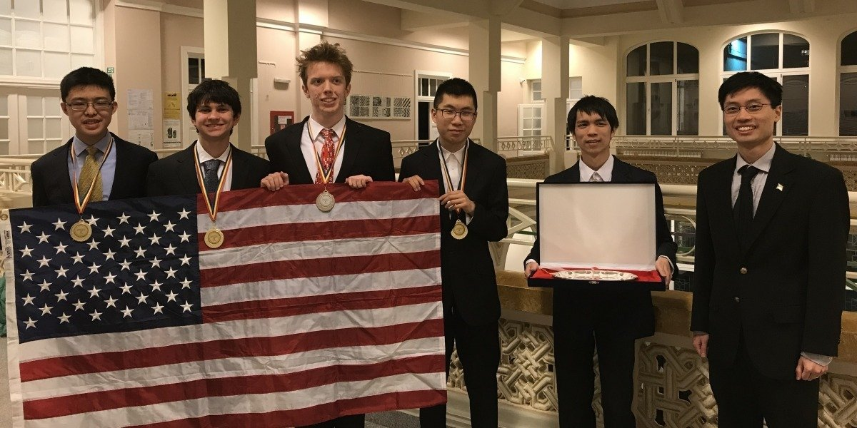 U.S. Team Takes Top Prize at Romanian Master of Mathematics