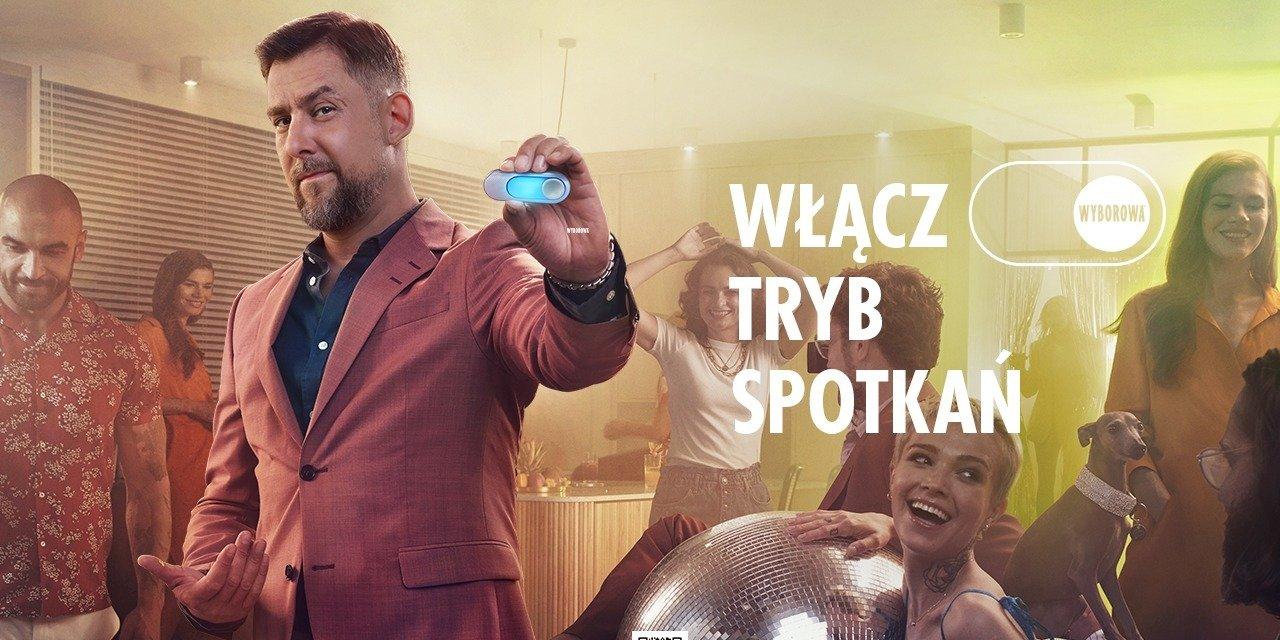 Wojtek Sokół w nowej kampanii marki Wyborowa