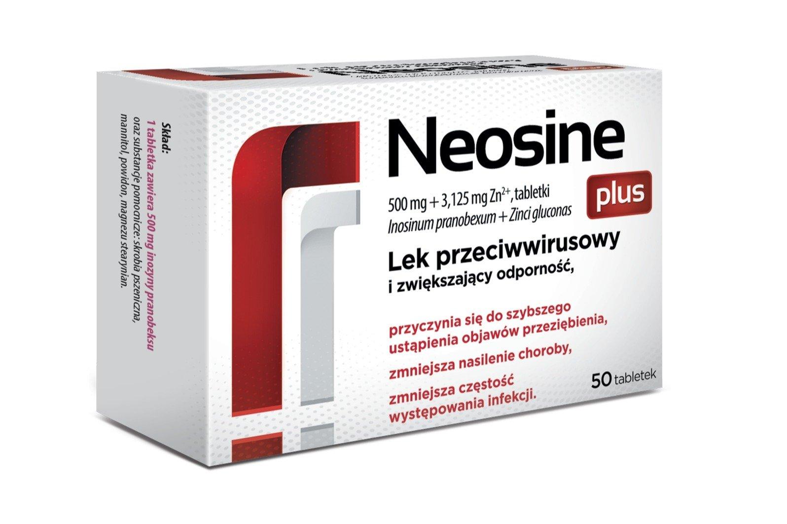 Neosine plus - nowy lek OTC w naszym portfolio