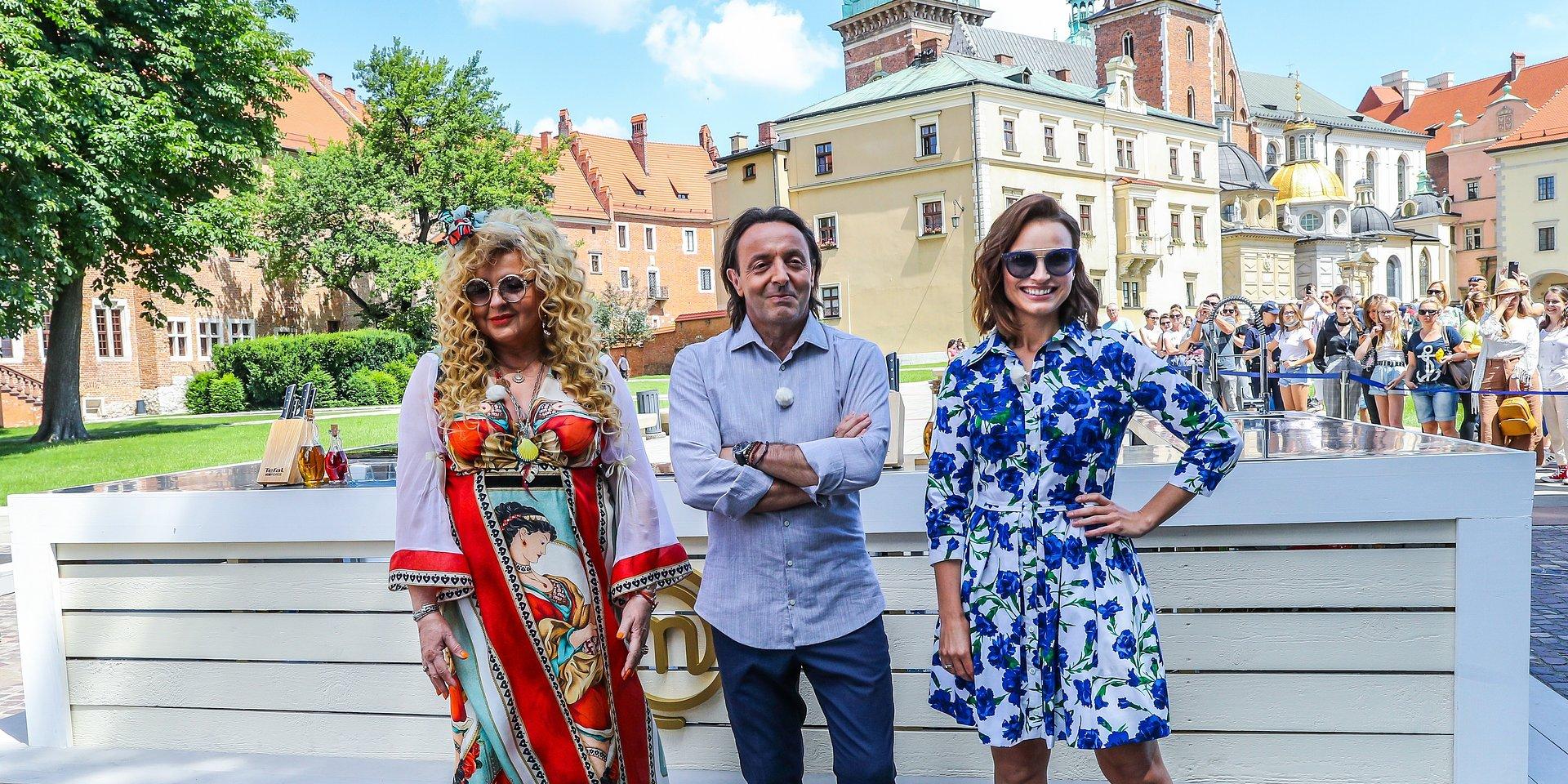 """Królewskie gotowanie na Wawelu w 8. odcinku """"MasterChefa""""!"""