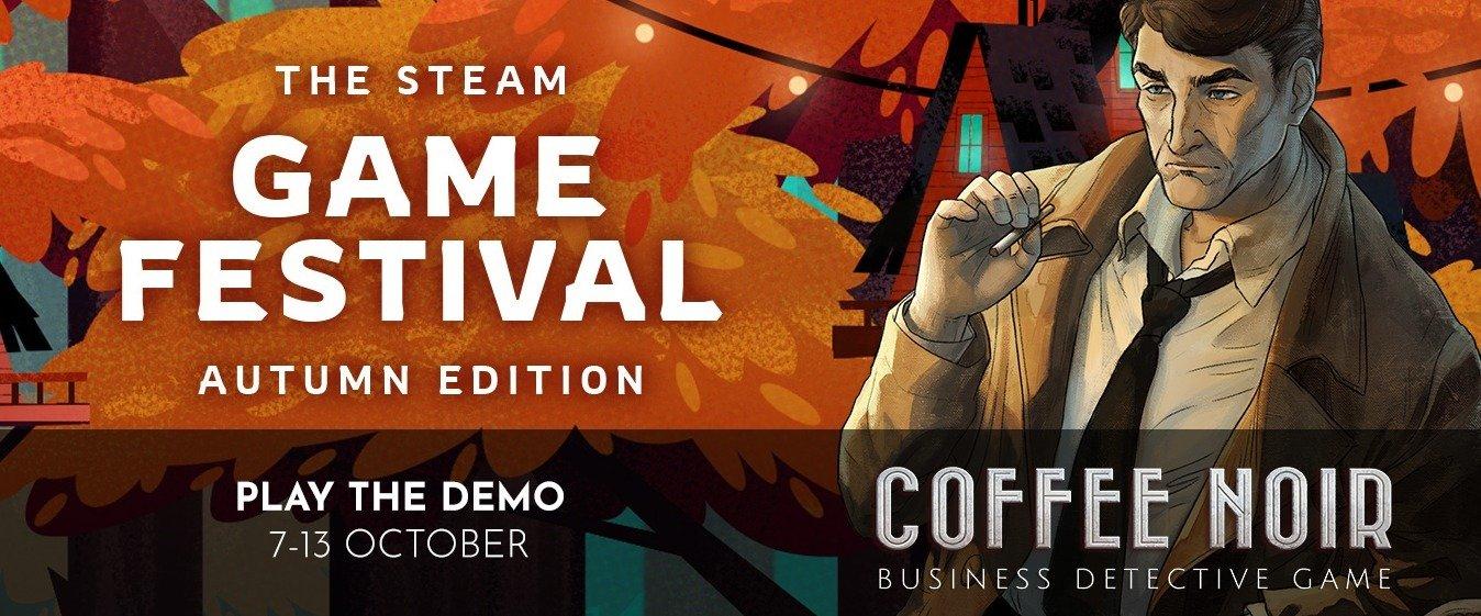 Вышла демоверсия Coffee Noir - Business Detective Game, симбиоза нуарного детектива и бизнес-менеджера.
