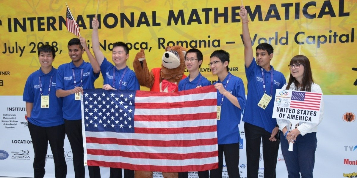 Team USA Returns to First Place in Olympics of High School Math