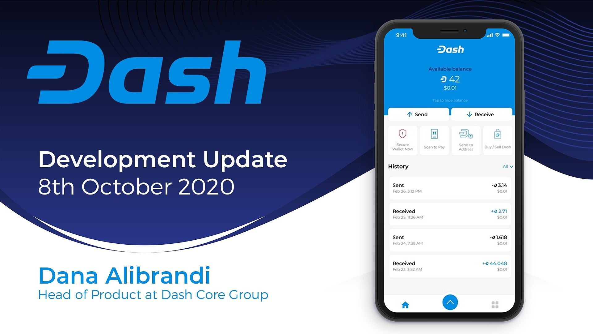 Dash Product Update - October 8th