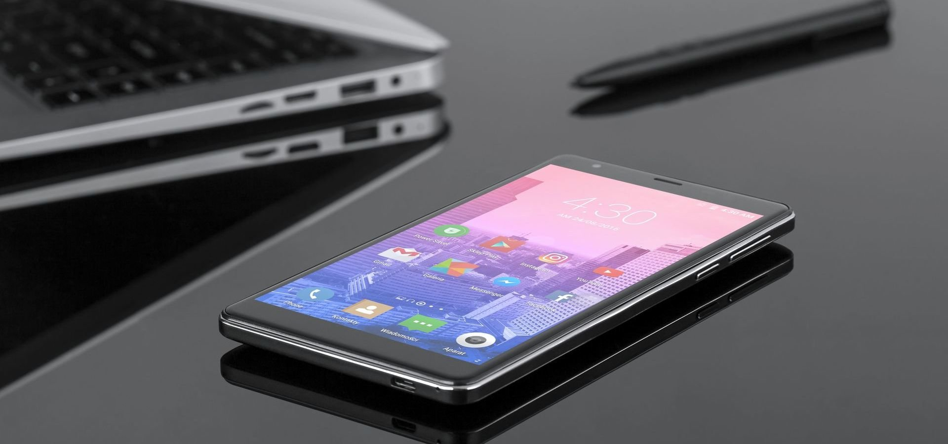 Kruger&Matz prezentuje trzy nowe smartfony z serii FLOW 4