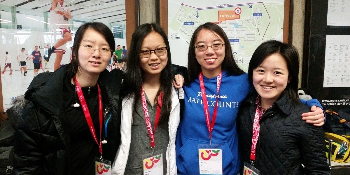 U.S. Team Wins First Place at European Girls' Mathematical Olympiad