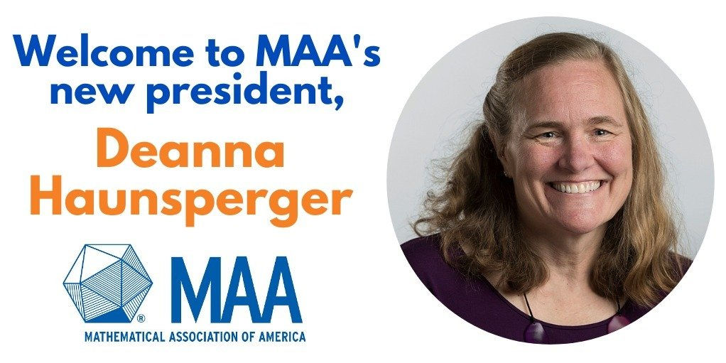 Minnesota Mathematician Takes Office as President of the Mathematical Association of America