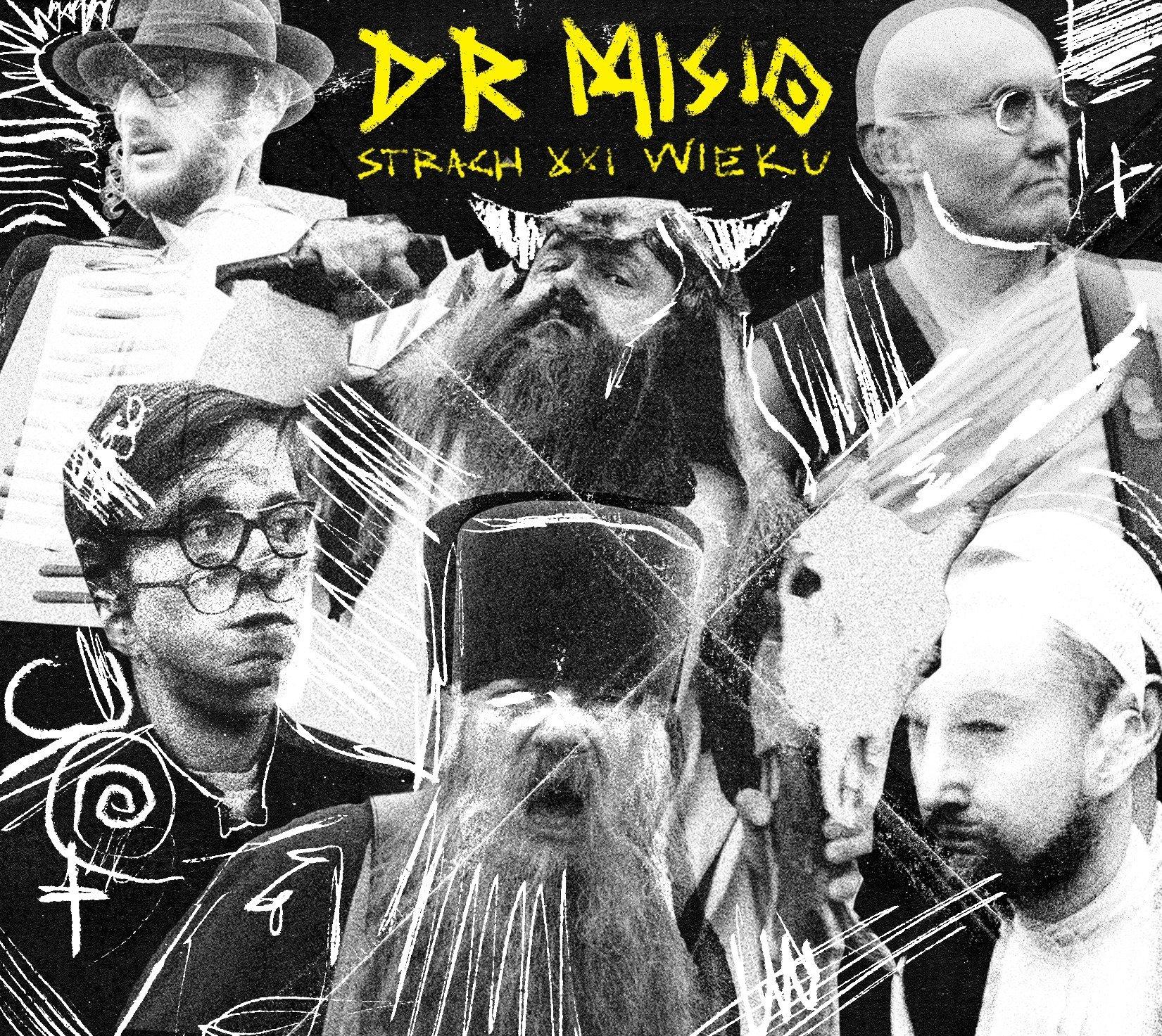 """DR MISIO """"Strach XXI wieku"""" – album dostępny w sklepach i serwisach cyfrowych"""