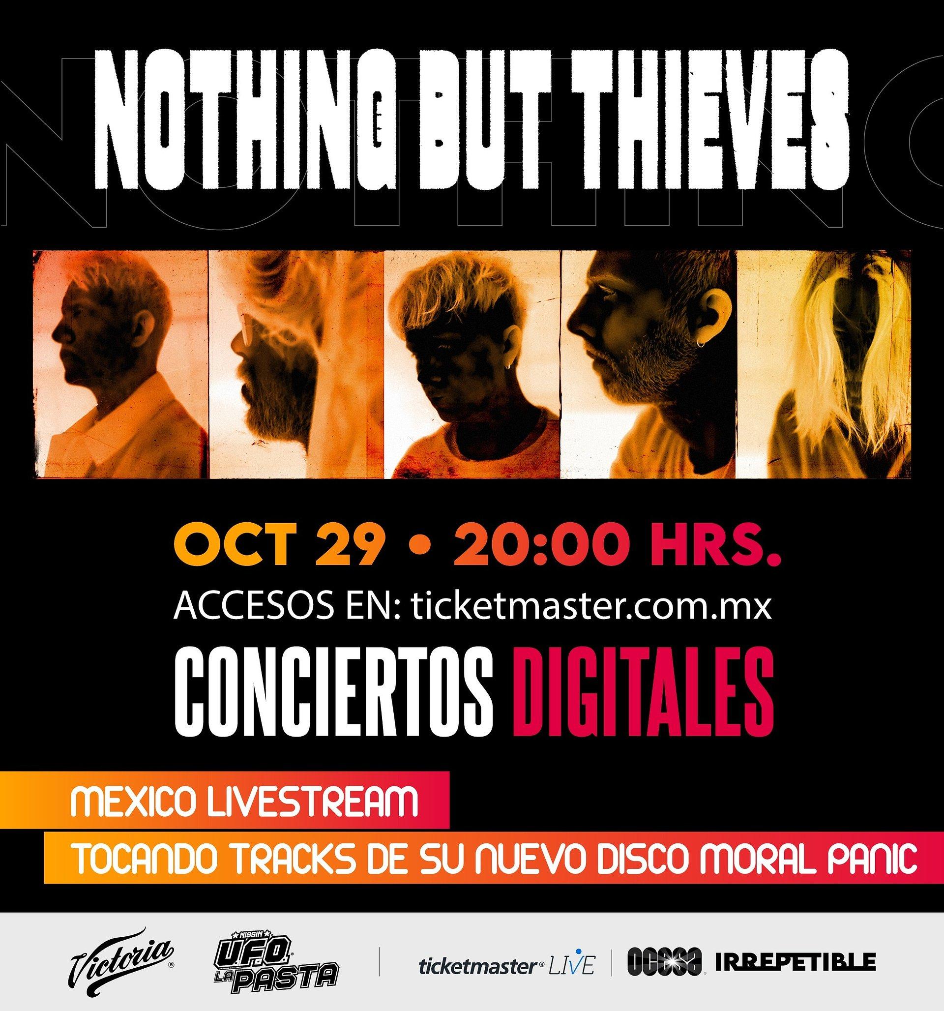 Nothing But Thieves se encuentra más que listo para su concierto digital