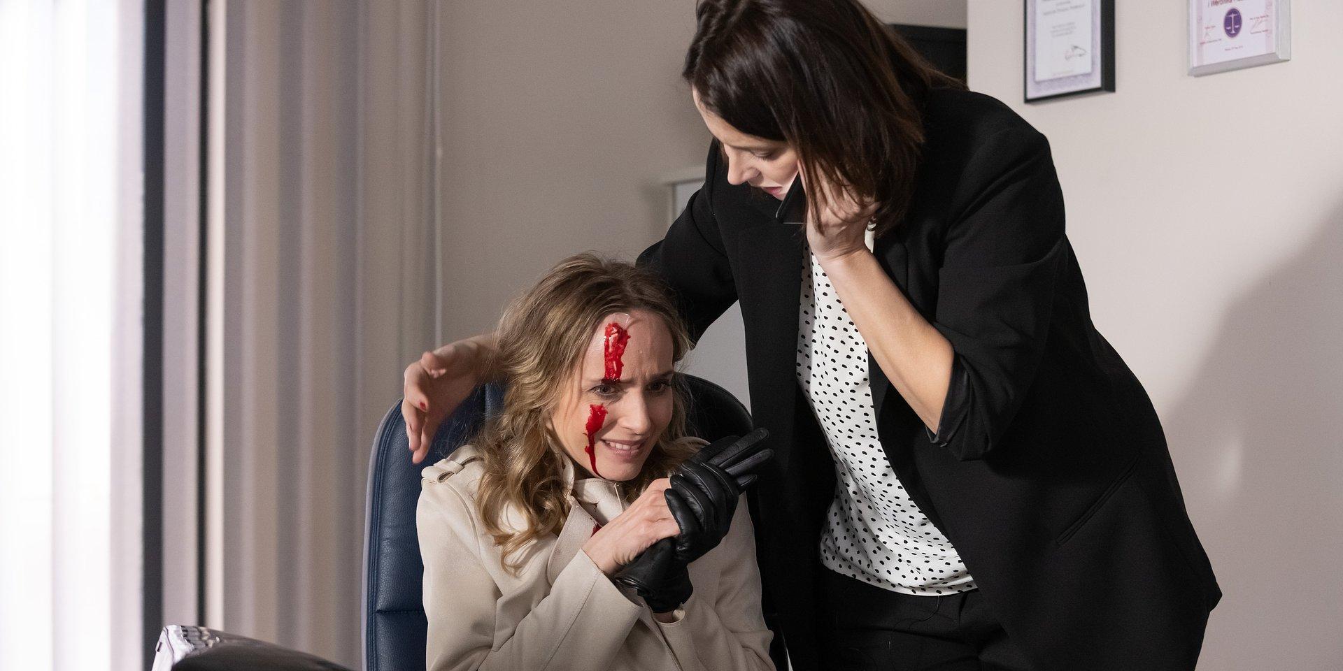 Robert idzie odurzony do psychologa, a Weronika ma w kancelarii… rzeź!