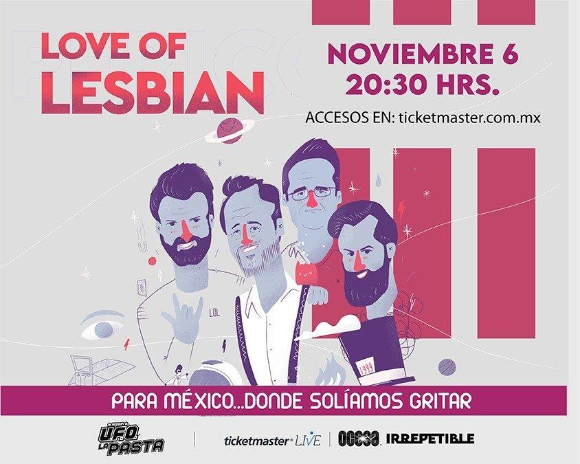 Love Of Lesbian dejará a sus fans ayudarles a elegir el setlist de su show IRREPETIBLE exclusivo para México