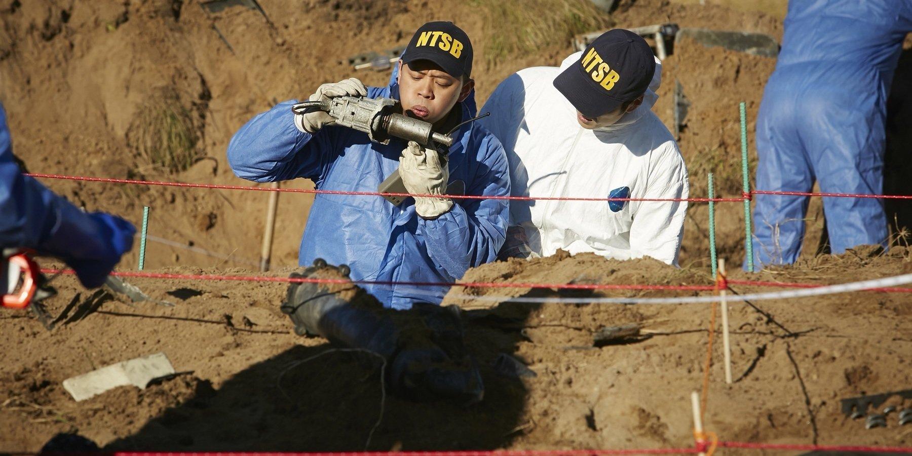 """""""Katastrofa w przestworzach""""  - premierowe odcinki w styczniu na kanale National Geographic"""