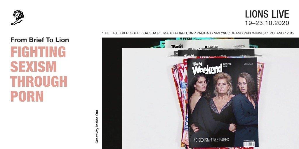 """""""Ostatni Twój Weekend"""" wśród 10 projektów z całego świata, które zostaną zaprezentowane podczas LIONS Live"""