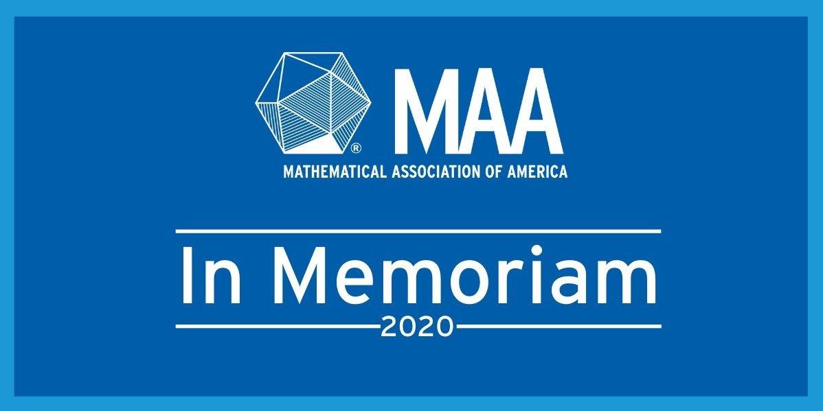 In Memoriam: 2020