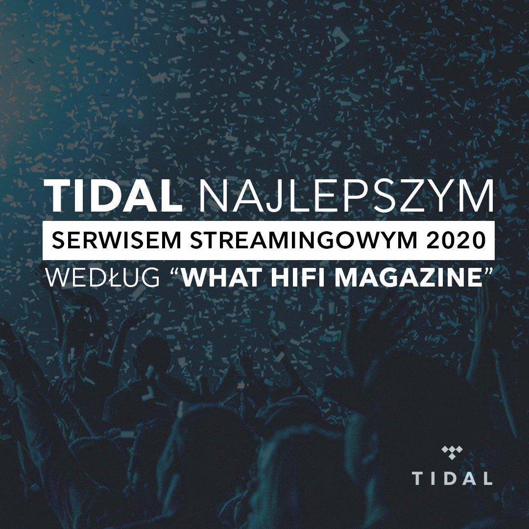 TIDAL nagrodzony jako Najlepszy Serwis Streamingowy!