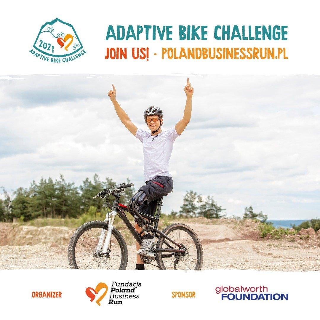 Globalworth Foundation kontynuuje współpracę z Fundacją Poland Business Run i wspiera projekt Adaptive Bike Challenge