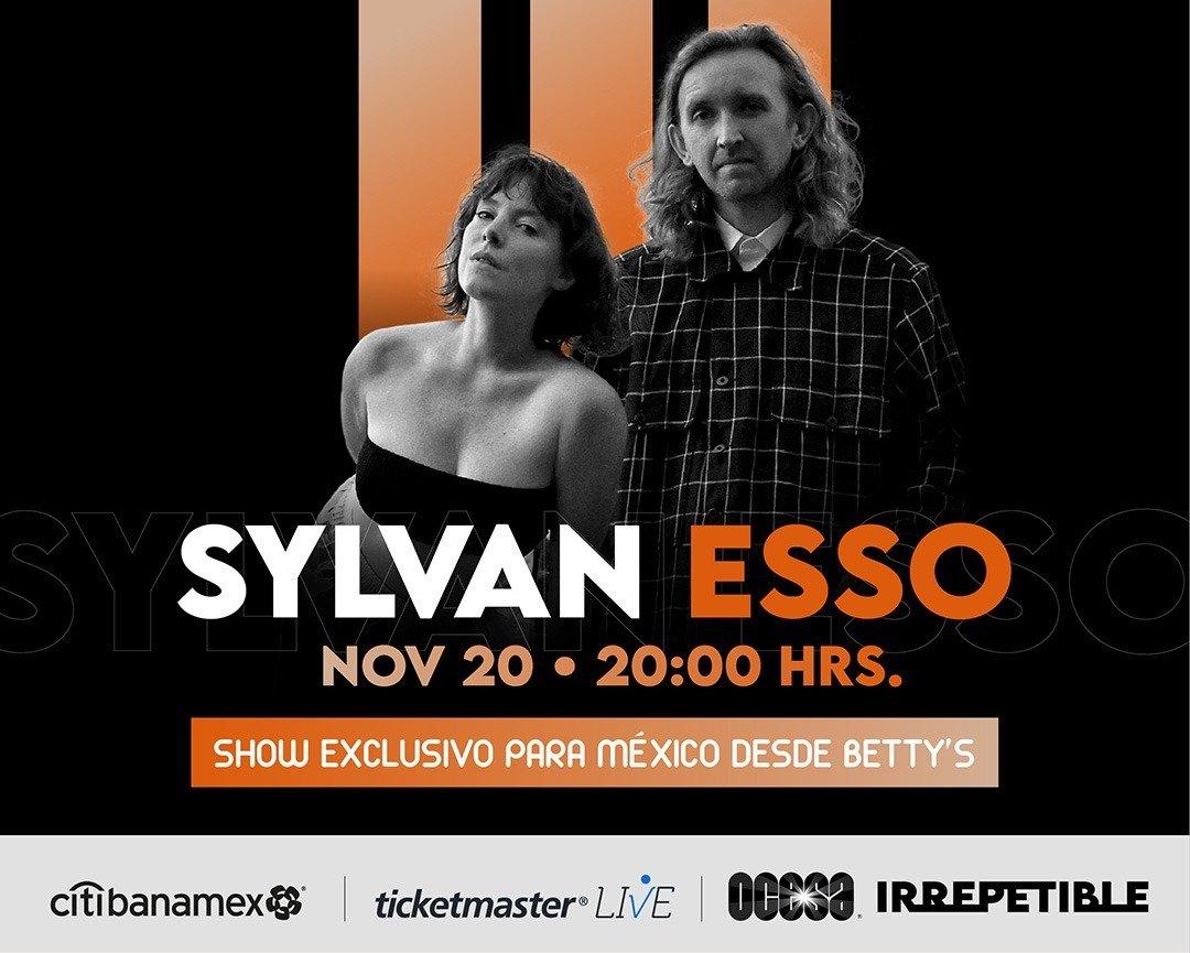 Show exclusivo para México desde Betty's Sylvan Esso en concierto virtual IRREPETIBLE