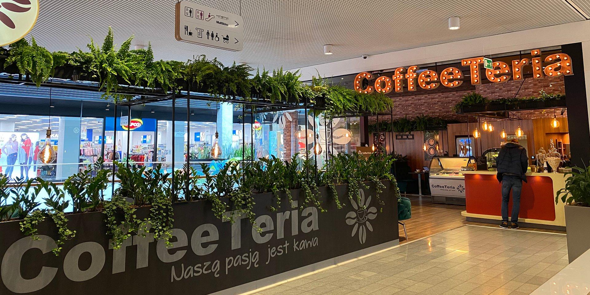CoffeeTeria – kameralna kawiarnia w olsztyńskiej Galerii Warmińskiej