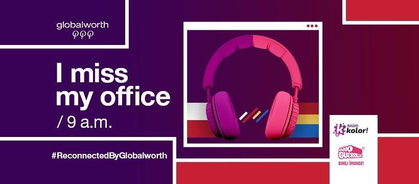 """Globalworth rusza z kampanią """"Tęsknię za biurem"""" w Polsce i Rumunii"""
