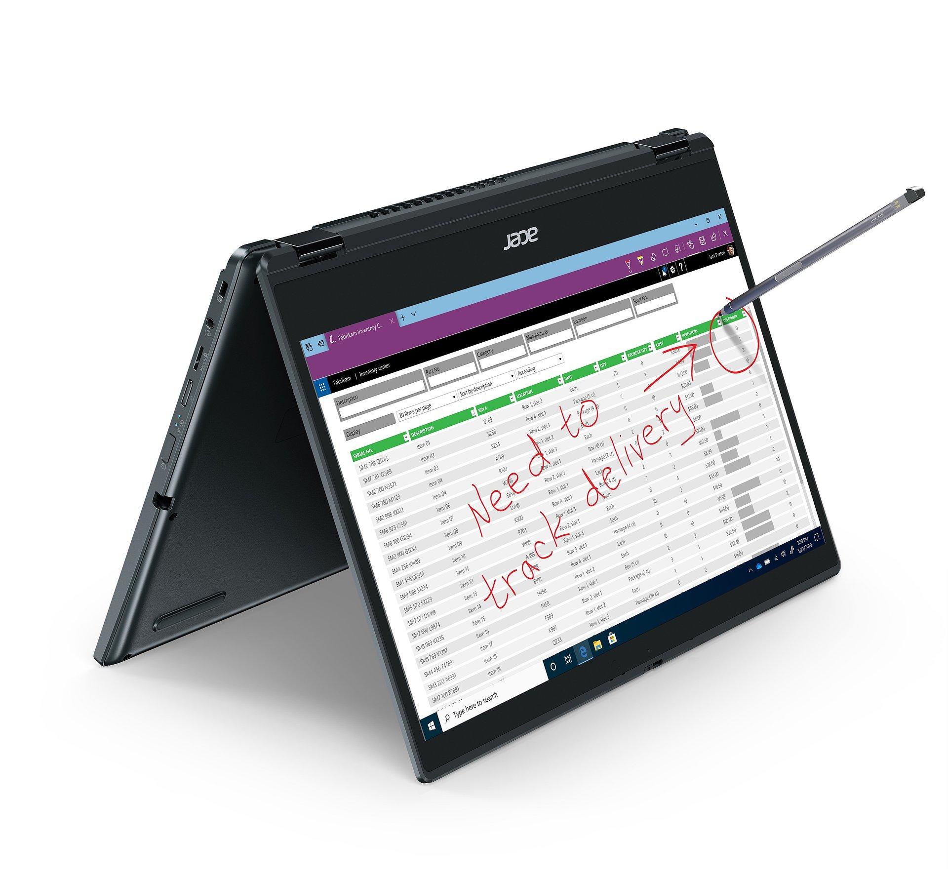 Acer prezentuje 3 nowości w postaci wytrzymałych biznesowych laptopów z serii TravelMate