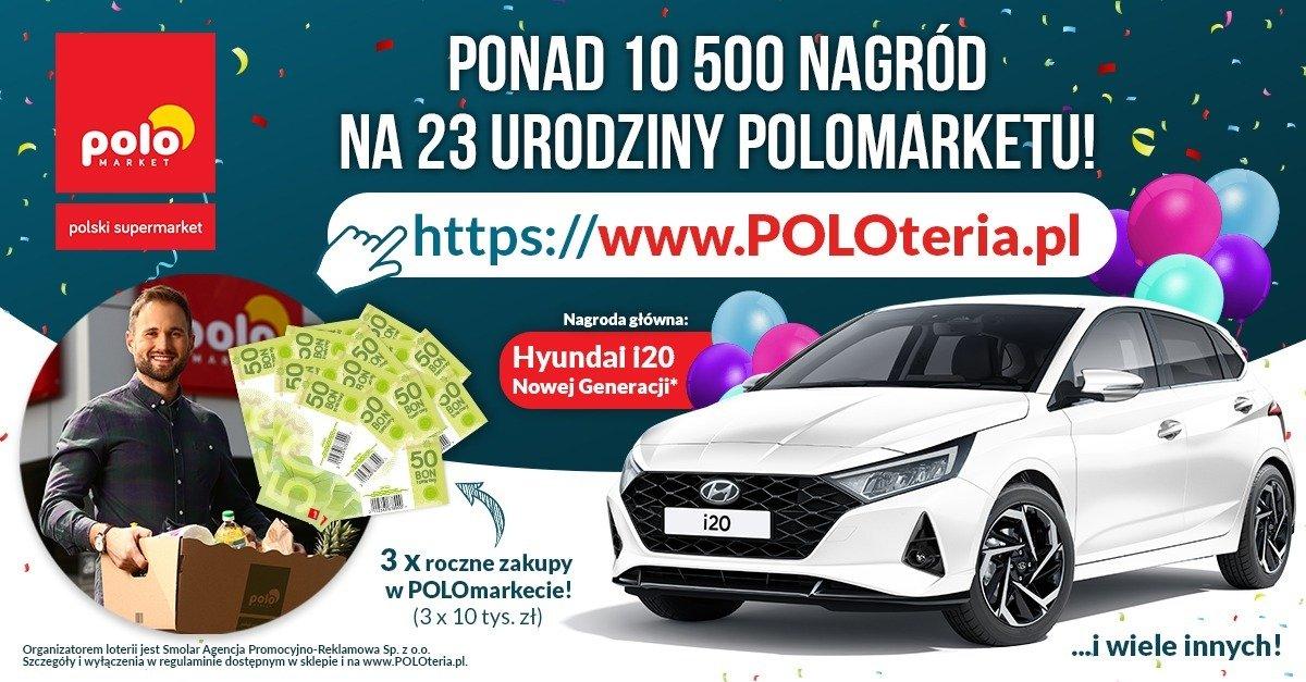 Moc atrakcji dla dużych i małych na 23 urodziny POLOmarketu!