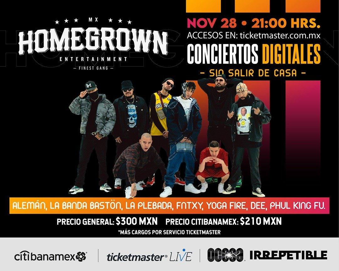 Homegrown Mafia presenta a todo su elenco en un concierto IRREPETIBLE