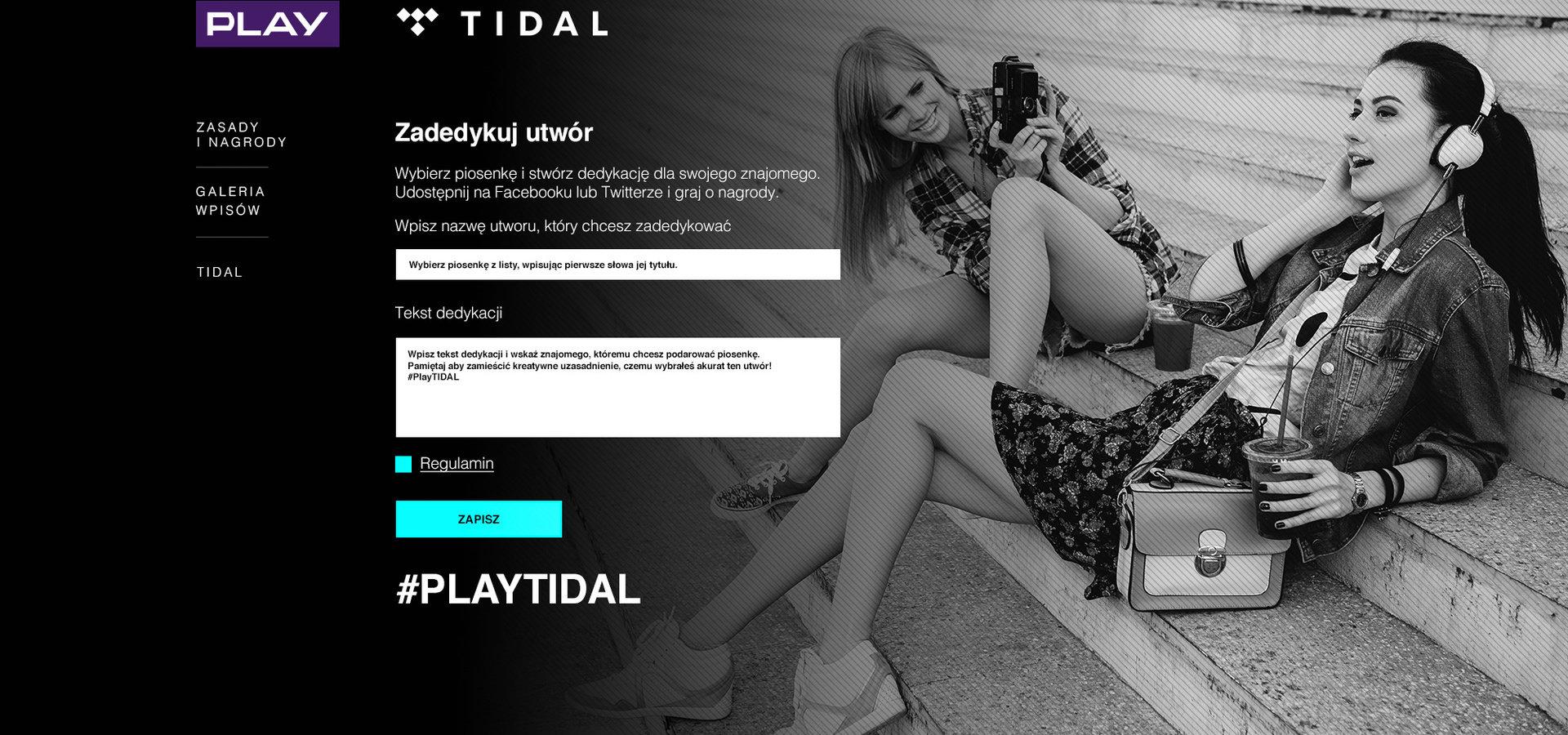 #PlayTidal