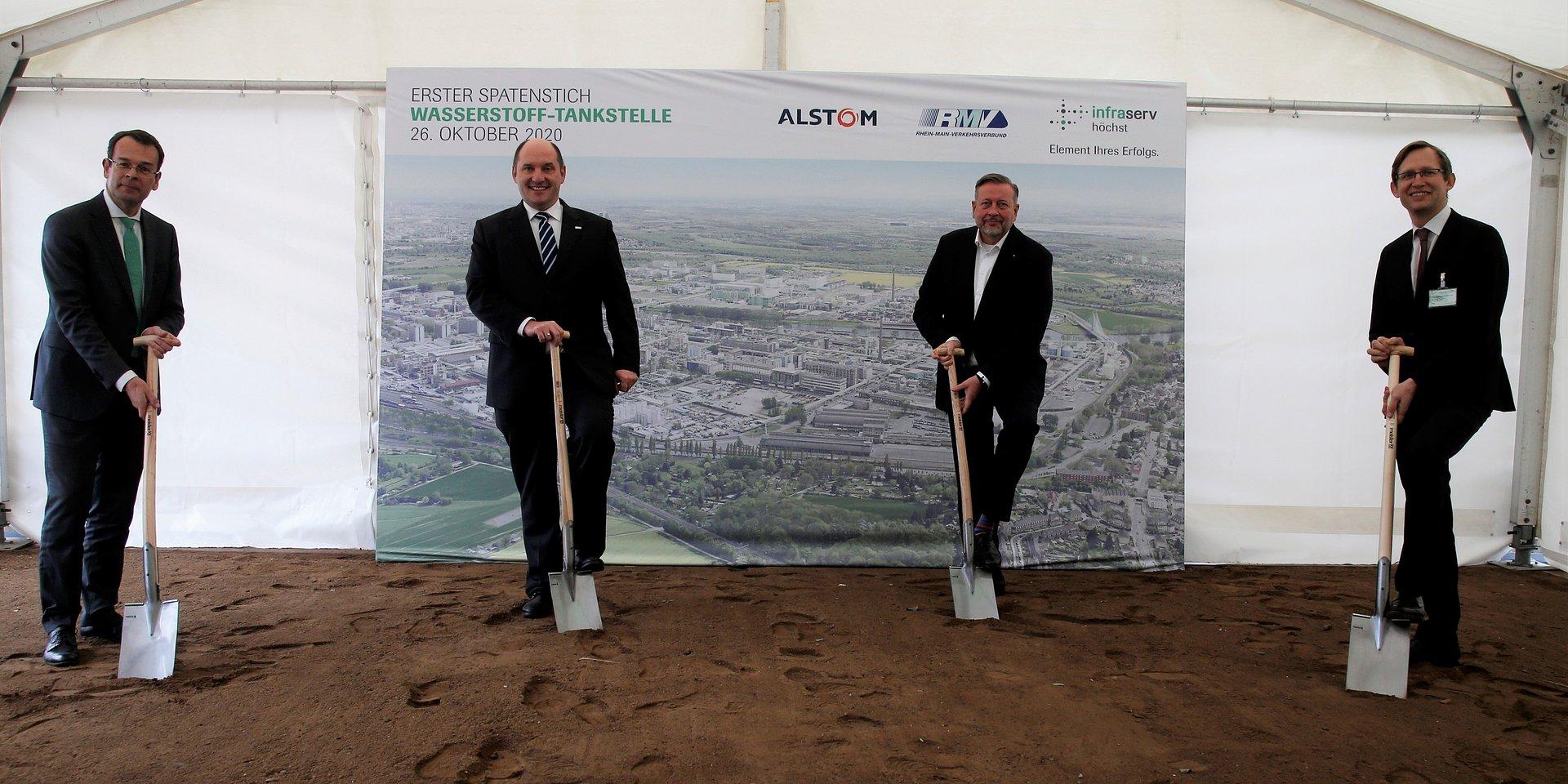 Rusza budowa pierwszej stacji tankowania wodoru dla pociągów pasażerskich w Hesji