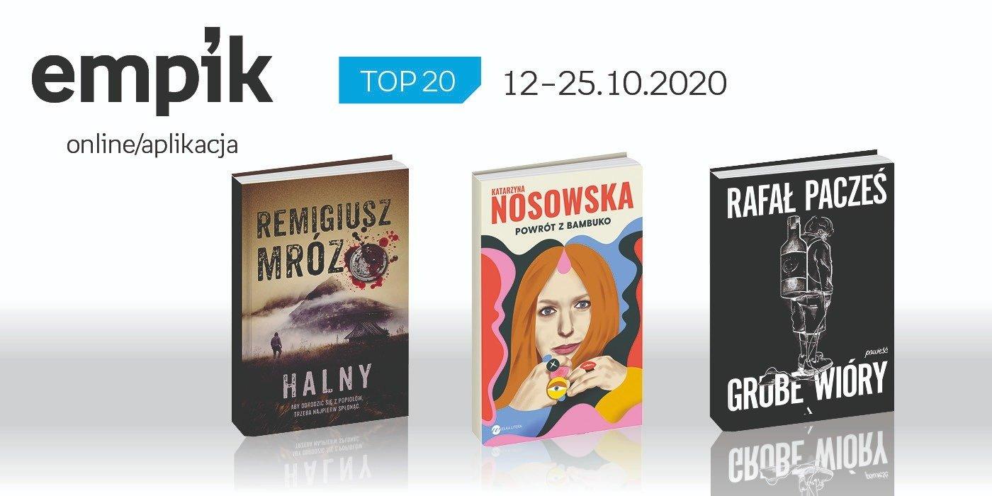Książkowa lista TOP 20 na Empik.com za okres 12-25 października