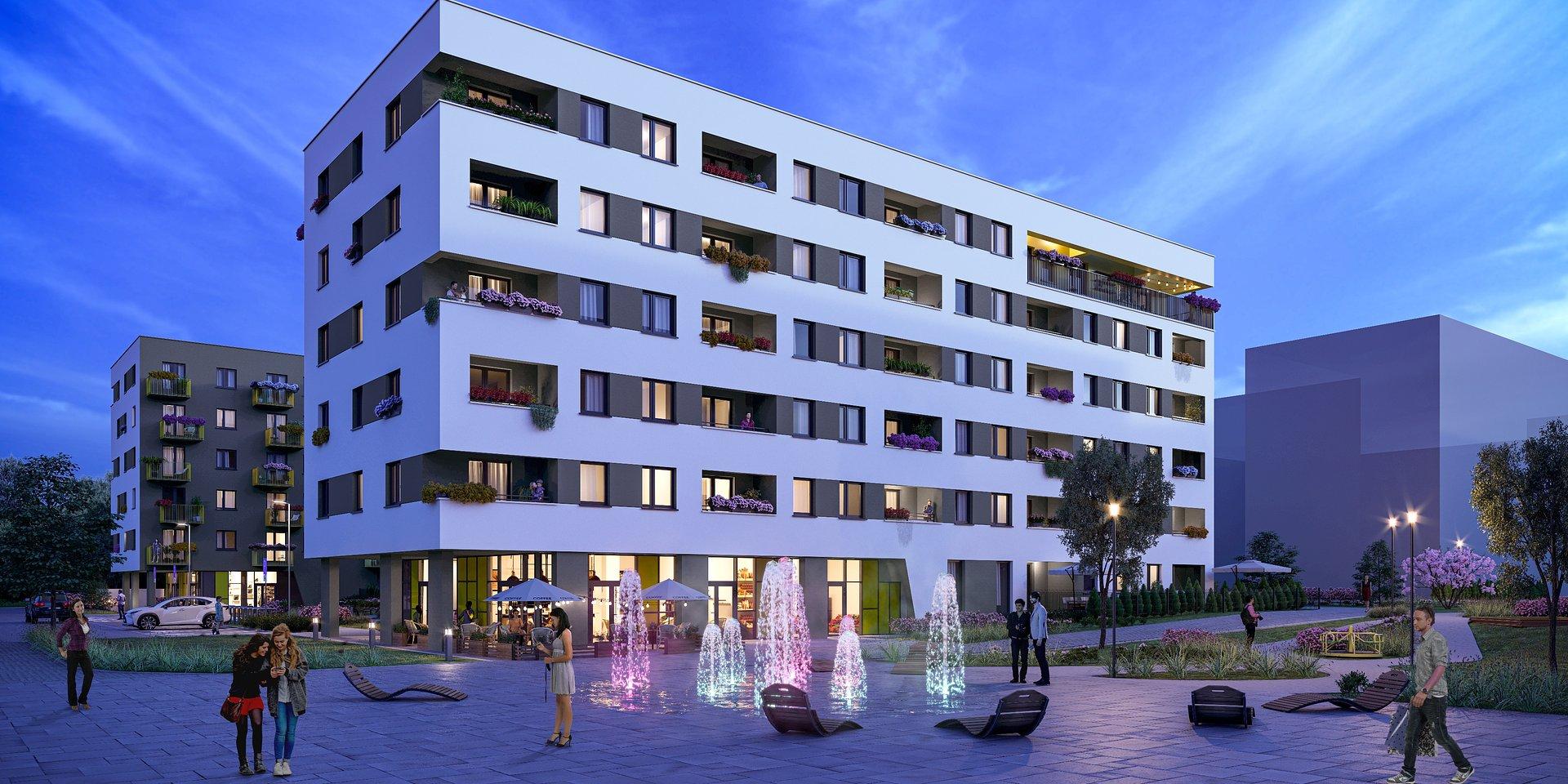 Nexity prezentuje osiedle City Vibe – tak bije serce Krakowa