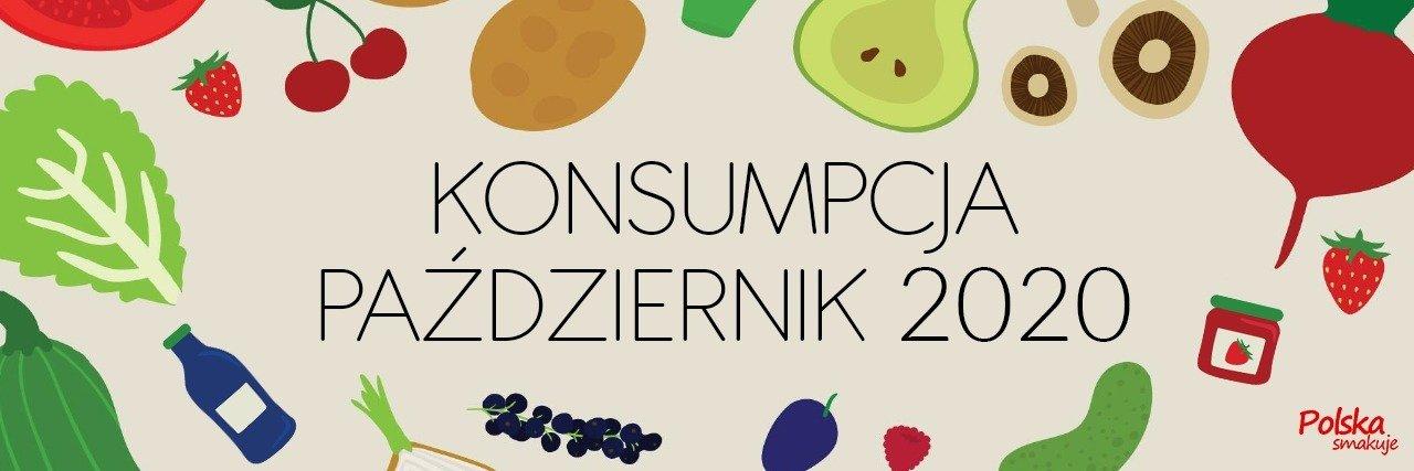 Konsumpcja warzyw i owoców w październiku 2020 roku