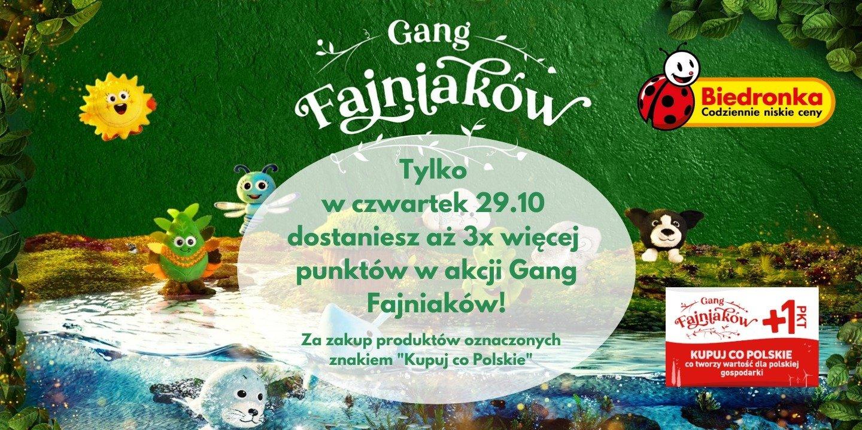 Dni szczególnych okazji w Biedronce. Szybsza droga do zdobycia Fajniaka