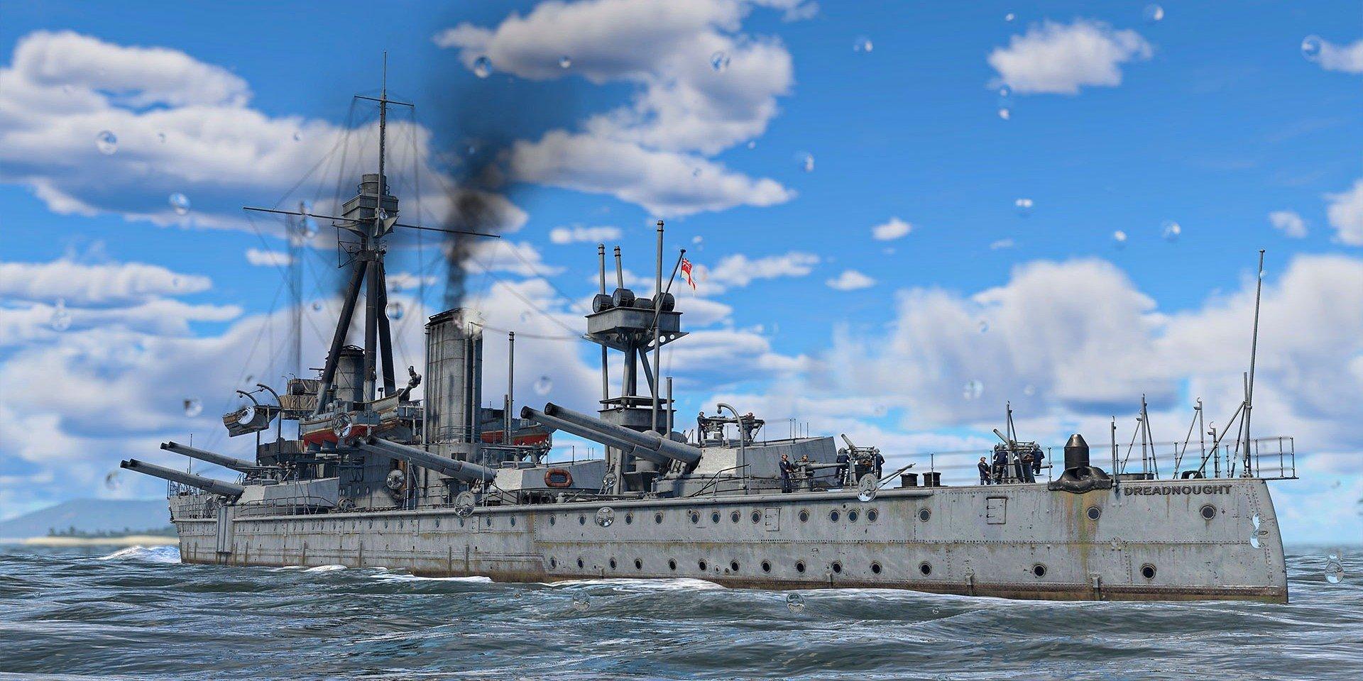 War Thunder przedstawia flotę dalekomorską