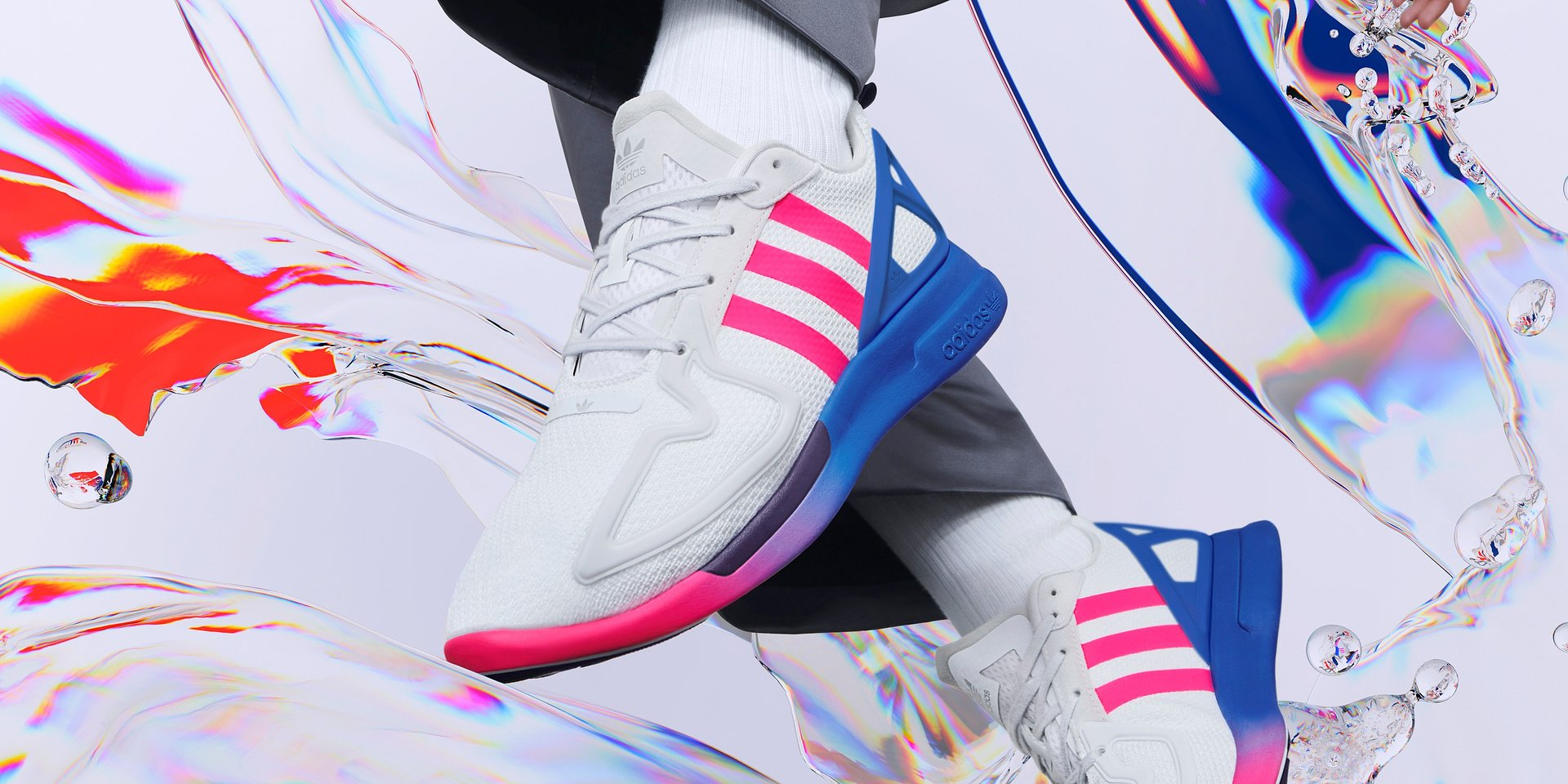 VMLY&R z kolejną zaskakująco satysfakcjonującą kampanią dla adidas ZX 2K BOOST