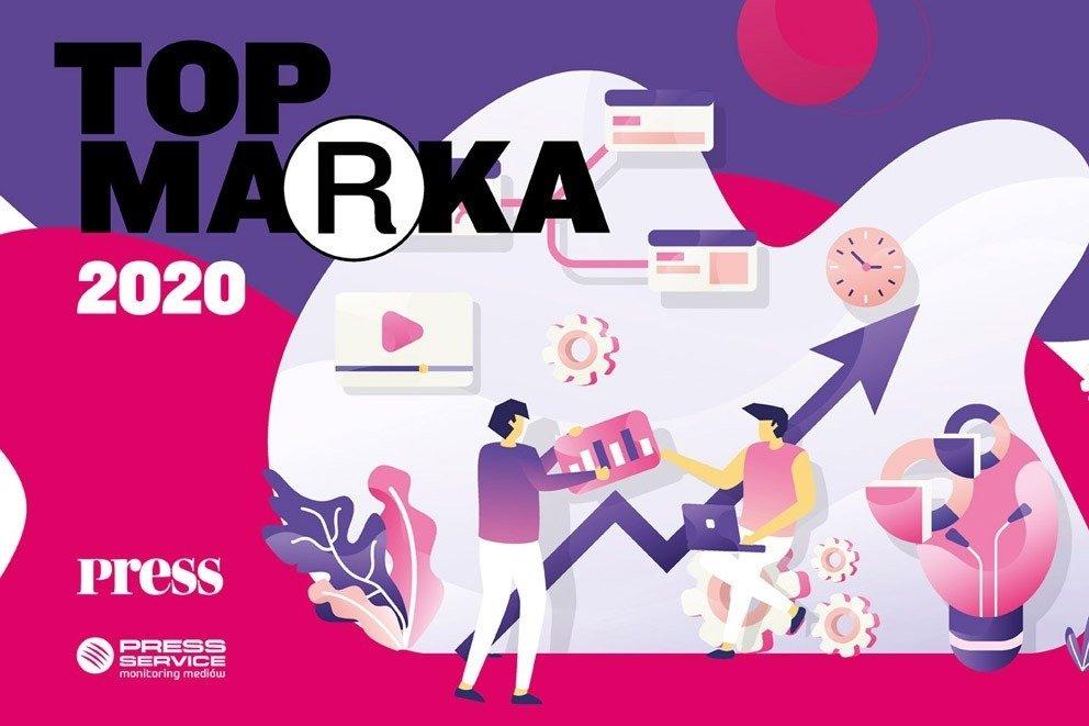 Marki, z którymi współpracuje VMLY&R Poland, wśród wyróżnionych tytułem Top Marka 2020