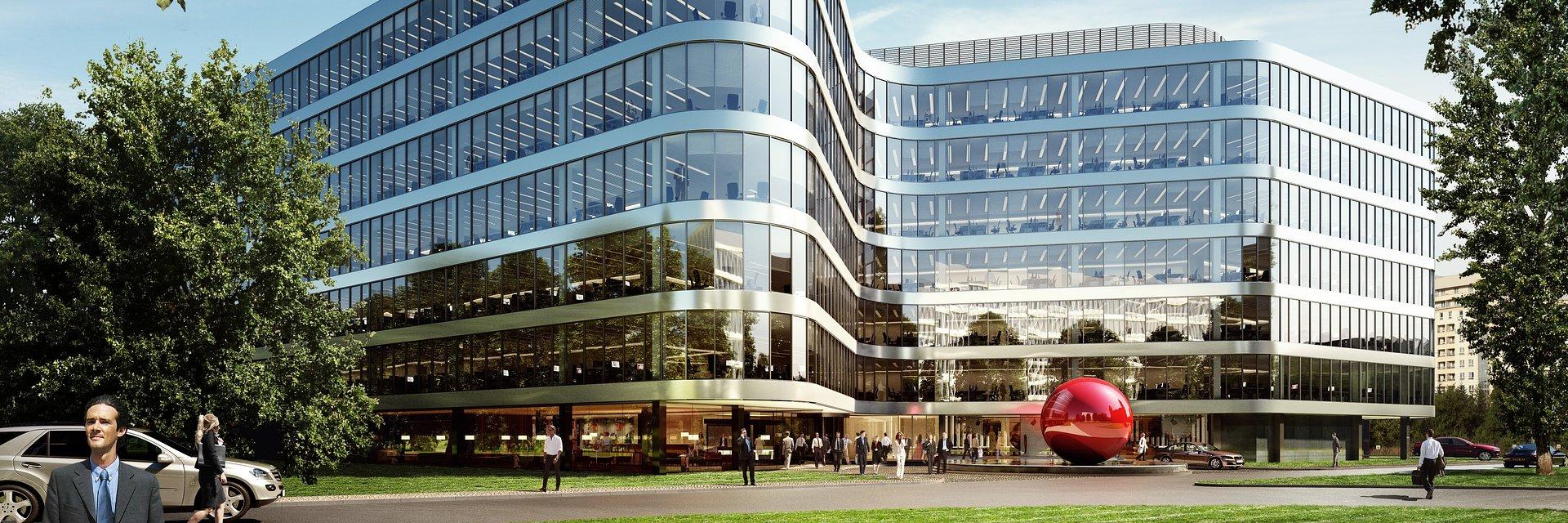 CBRE skomercjalizuje biurowiec Dor Plaza na warszawskim Okęciu