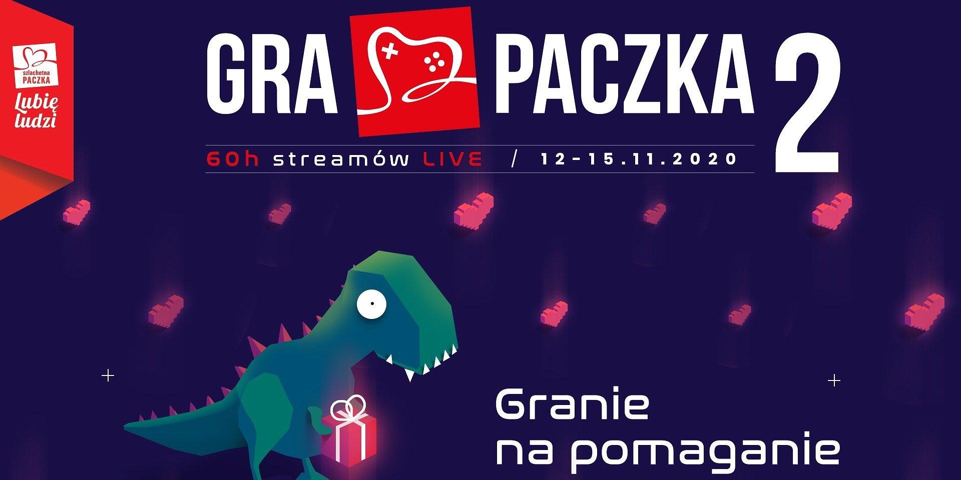 Final countdown! Charytatywny stream Gra Paczka już za kilka dni. Na uczestników czekają nagrody związane m.in. ze światem Cyberpunk 2077