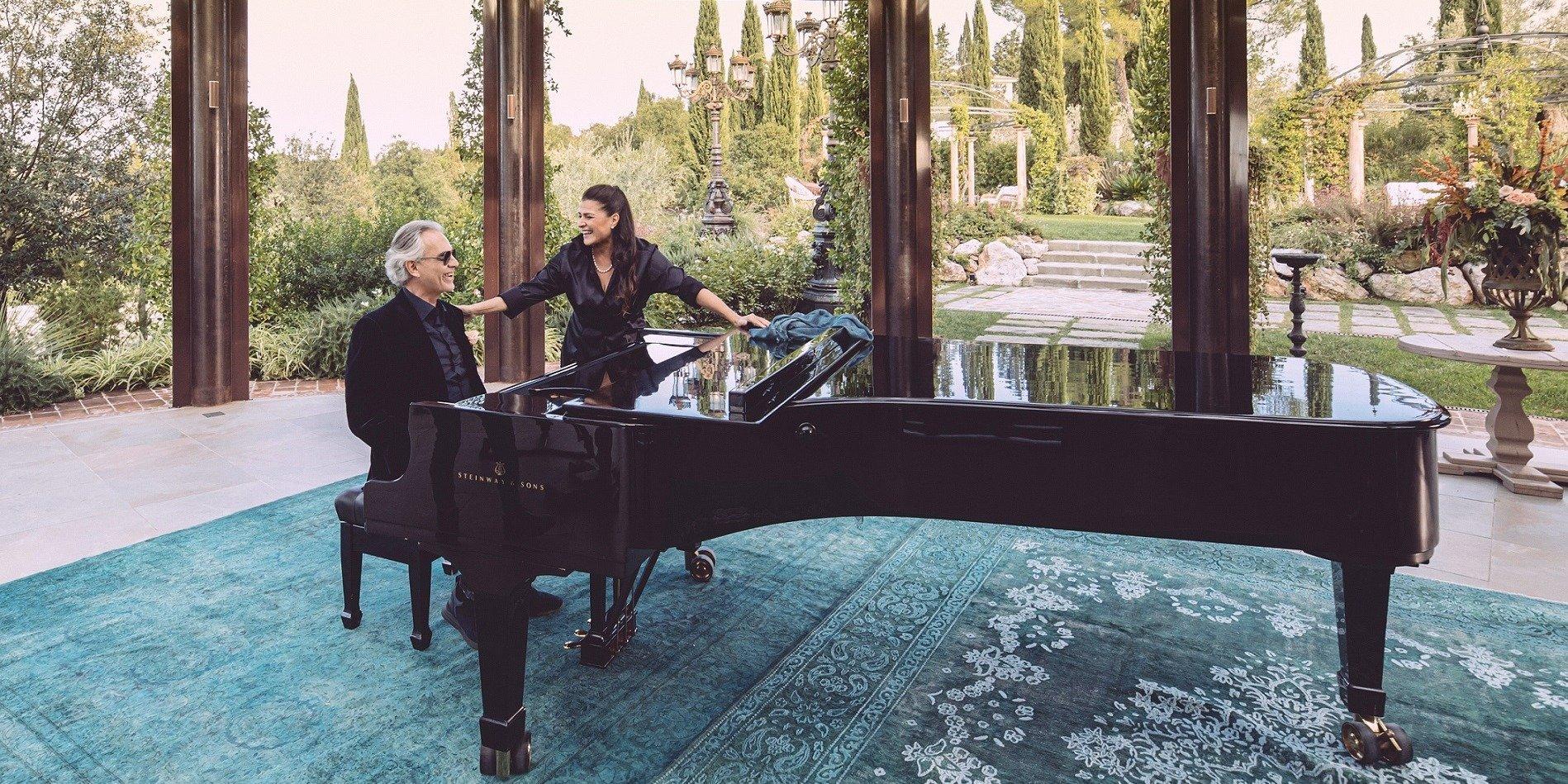 """Andrea Bocelli w duecie """"Pianissimo"""" z Cecilią Bartoli"""
