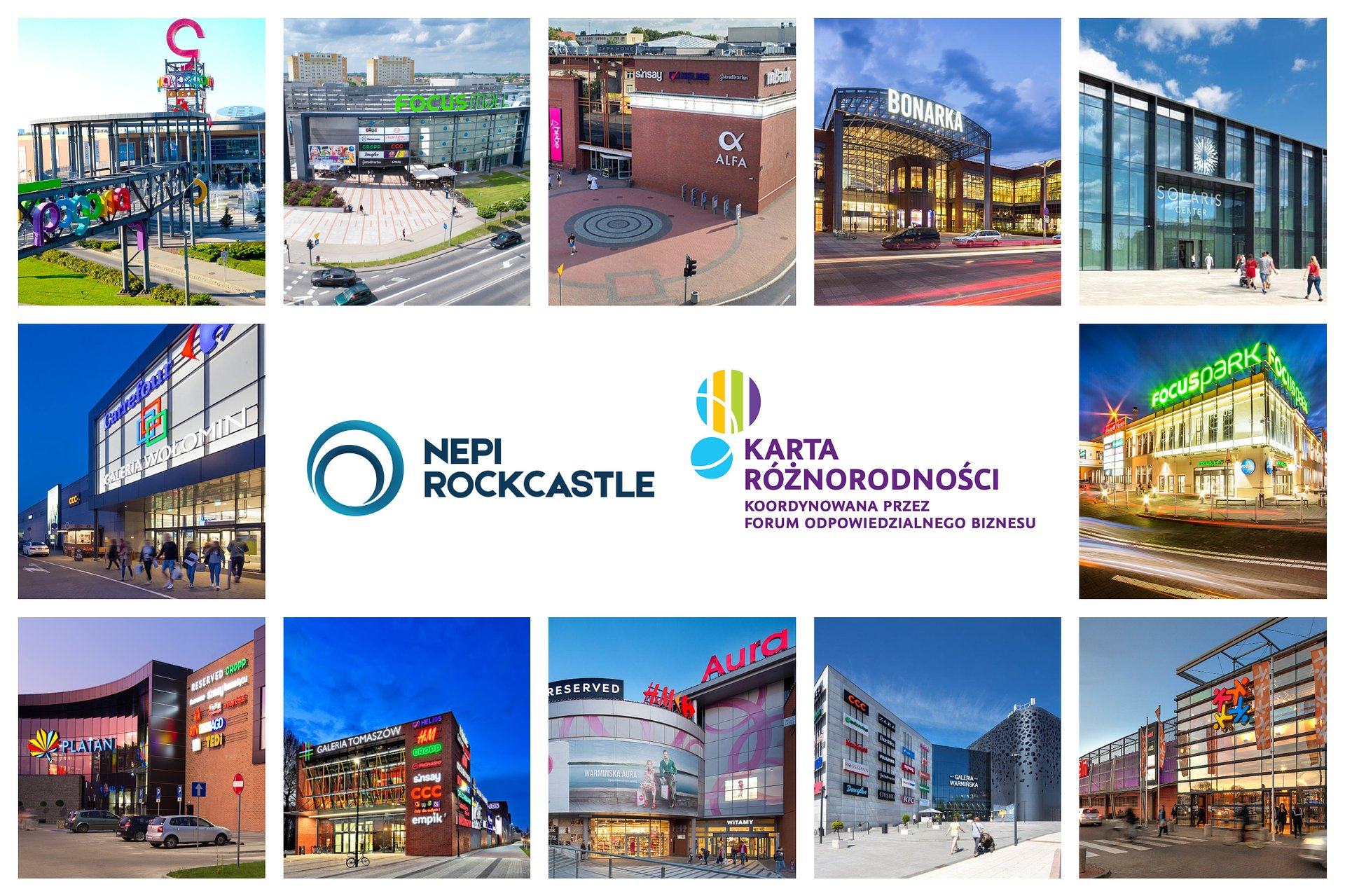 Różnorodność motorem napędowym NEPI Rockcastle