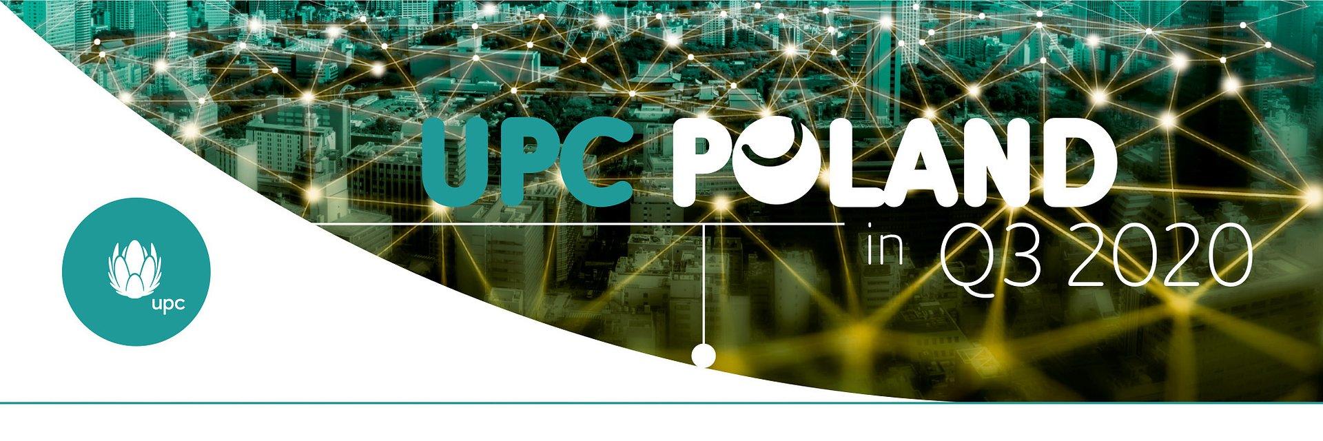W III kwartale 2020 r. UPC przyspieszyło wzrost, rosnąc tym samym nieprzerwanie od 9 kwartałów i przekraczając próg 1,5 miliona klientów