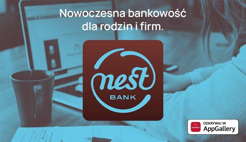 Aplikacja Nest Banku dołączyła do Huawei AppGallery
