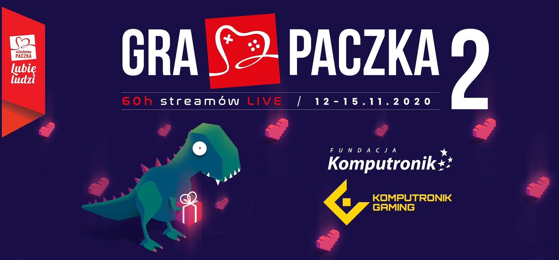Komputronik Gaming i Fundacja Komputronik ponownie włączają się w Gra Paczka!