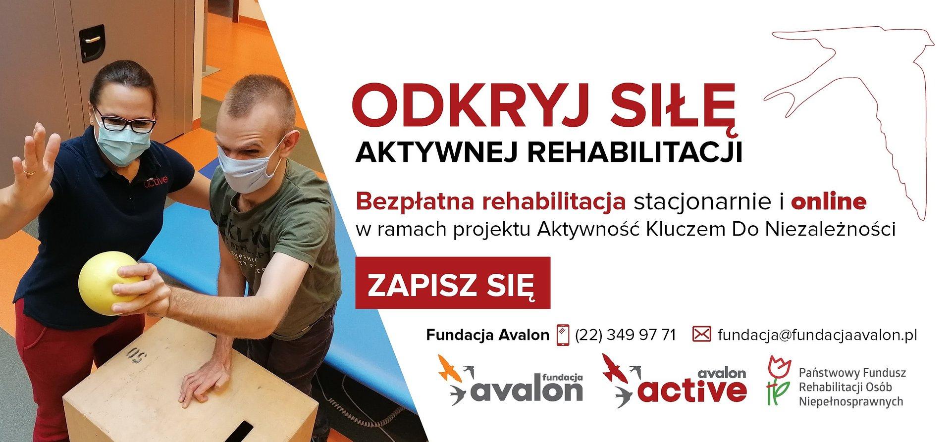 Bezpłatna rehabilitacja online